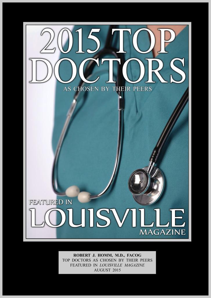 Dr Homm 2015 Top Doctors Louisville